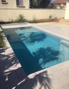 Création d'une piscine
